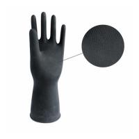 Перчатки кислощелостойкие с ворсовой подложкой СУПЕРФЛОК
