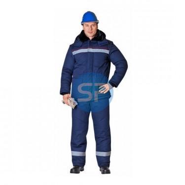 02 Куртка АЛТАЙ синяя