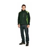 05 Куртка CERVA АЛЛИН зелено-черная