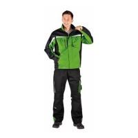 24 Куртка CERVA АЛЛИН зеленая с черным