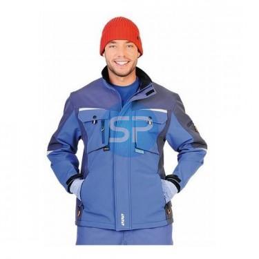 27 Куртка CERVA АЛЛИН голубая с темно синим