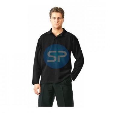 46 Рубашка ПОЛО-Д черная